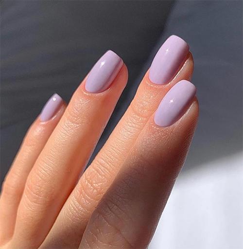 Purple OPI Gel Polish